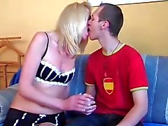 blonde blowjob caucasian