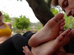 loira fetiche fetiche por pés hardcore