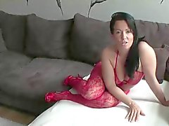 Stepmother takes it hard in the ass