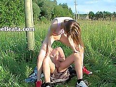 anal hardcore ao ar livre