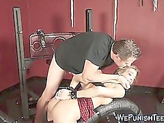 bdsm babe blonde