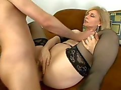 Anal MILF Nina Hartley Swallows