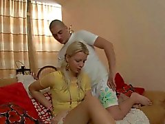 любительский анальный блондинка