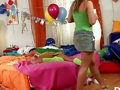 lezbiyen parti genç