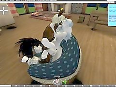 anime second-life furry horse