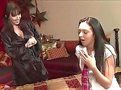 lésbicas massagem amadurece