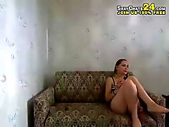 amateur striptease webcam