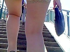 flashing stockings upskirts