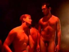 смешной полоске выставочный на сцене художественный полоску гей
