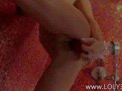 sweet pink panties teasing