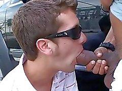 Gay interrazziale grande pene